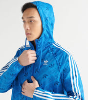 Adidas  Mono Windbreaker  Blue - ED7046-430 | Jimmy Jazz