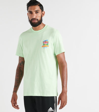 Adidas  Bodega Popsicles SS Tee  Green - ED7061-334 | Jimmy Jazz
