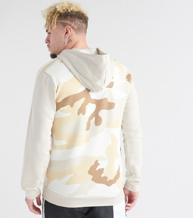 Adidas  Camo Full Zip Hoodie  Multi - ED7072-997 | Jimmy Jazz