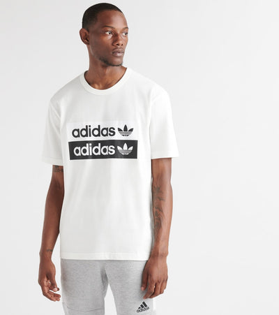 Adidas  Vocal Logo SS Tee  White - ED7195-100 | Jimmy Jazz