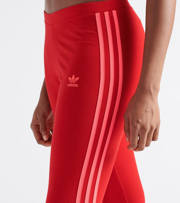 Adidas  3 Stripe Tights  Red - ED7577-610 | Jimmy Jazz