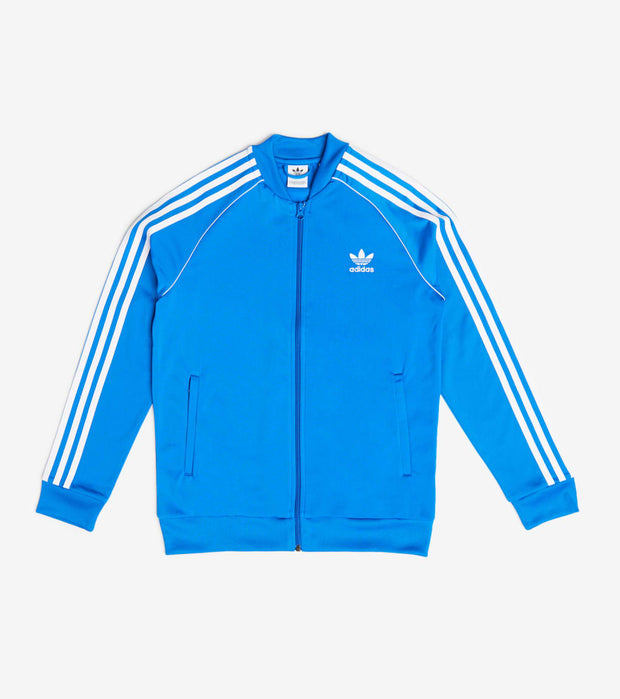 Adidas  Girls Long Sleeve SST Track Jacket  White - ED7807 | Aractidf