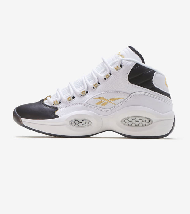 Reebok  Question Mid  White - EF7599 | Jimmy Jazz