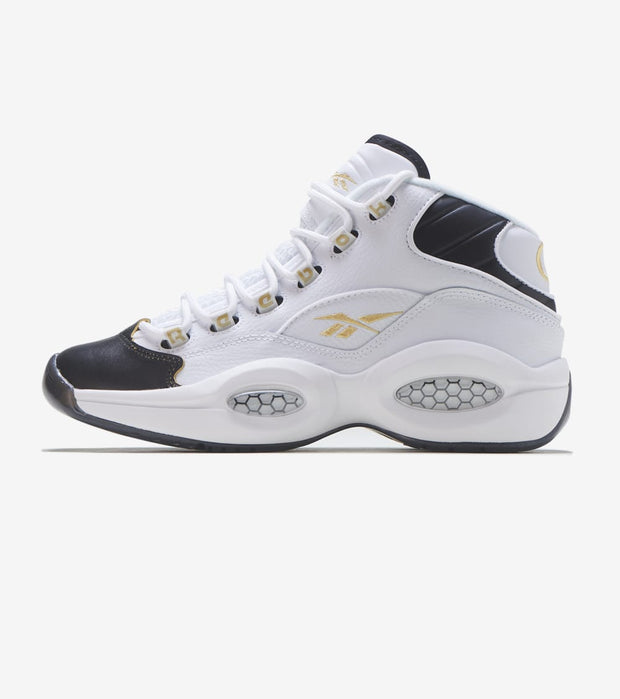 Reebok  Question Mid  White - EG6274 | Jimmy Jazz