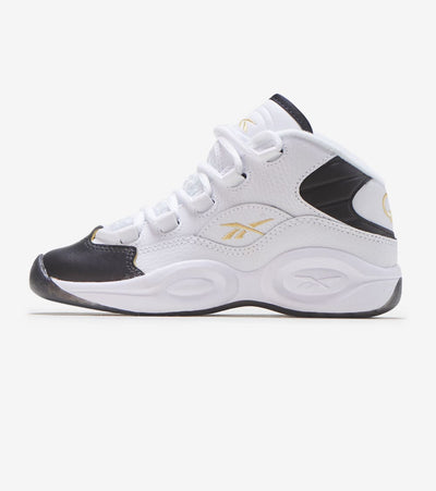 Reebok  Question Mid  White - EG6276 | Jimmy Jazz