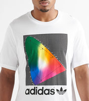 Adidas  Spectrum SS Tee  White - EI6216-100 | Jimmy Jazz