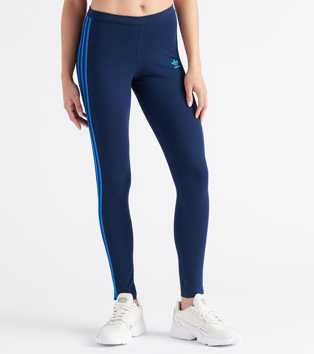 Adidas  3 Stripe Tights  Navy - EJ9022-415 | Jimmy Jazz
