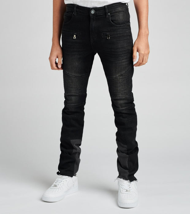 Embellish  Popovich Biker Jeans  Black - EMBF119-112 | Jimmy Jazz