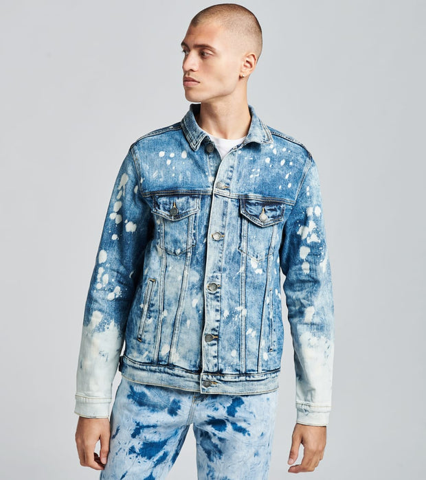 Embellish  Orux Denim Jacket  Blue - EMBF218-103 | Jimmy Jazz