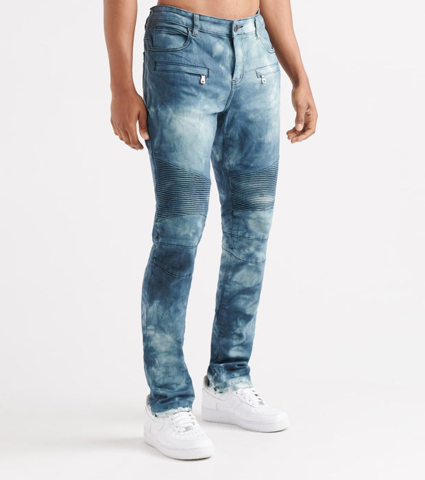 Embellish  Braxton All-Over Destroyer DTL Jeans  Blue - EMBH11772-IND | Jimmy Jazz