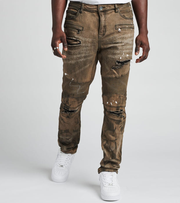 Embellish  Salvador Jeans L36  Brown - EMBH118-114 | Jimmy Jazz