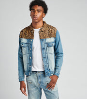 Embellish  Hunt Denim Jacket  Blue - EMBSP119-206 | Jimmy Jazz