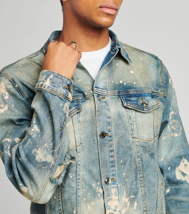 Embellish  Williamson Denim Jacket  Blue - EMBSP119-209 | Jimmy Jazz