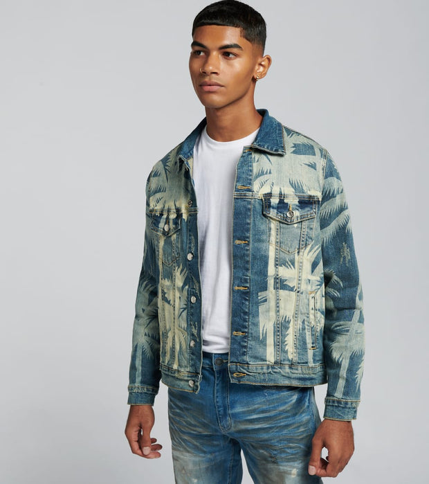 Embellish  Norton Denim Jacket  Blue - EMBSP119-214 | Jimmy Jazz