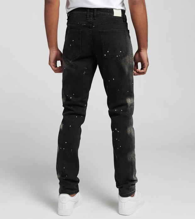 Embellish  Quaker Denim Jeans  Black - EMBSP219-136 | Jimmy Jazz