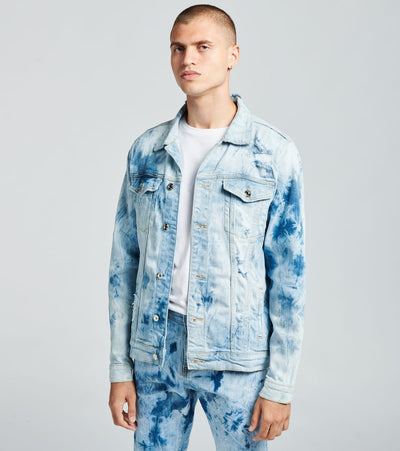 Embellish  Matthew Denim Jacket  Blue - EMBSP219-202 | Jimmy Jazz