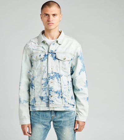 Embellish  Horizon Denim Jacket  Blue - EMBSP219-203 | Jimmy Jazz