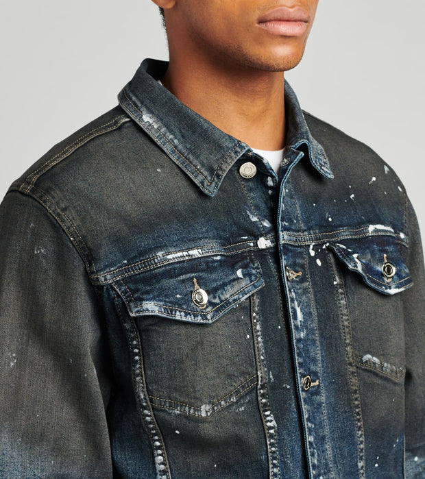 Embellish  Wyler Denim Jacket  Blue - EMBSP219-204 | Jimmy Jazz