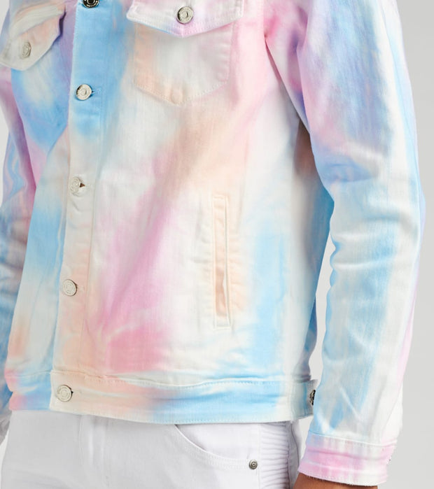 Embellish  Gummo Denim Jacket  Multi - EMBSP219-205 | Jimmy Jazz