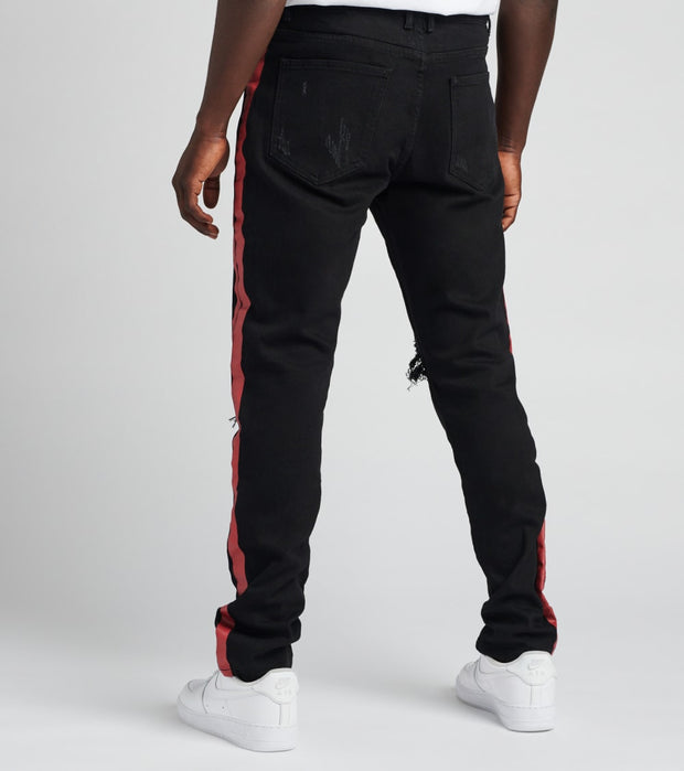Embellish  Bolt Standard Jeans L34  Black - EMBSU219-105 | Jimmy Jazz