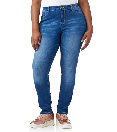 Essentials  PLUS NO MUFFIN JEAN  Blue - EP747120-M02 | Jimmy Jazz