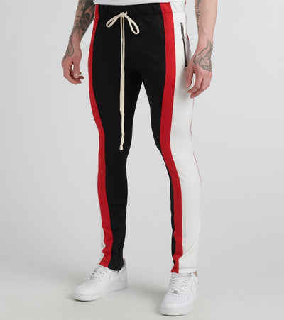 Eptm  Color Block Track Pants  Black - EP8462-BRO | Jimmy Jazz