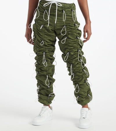Eptm  Accordion Pants  Green - EP9385-OLW | Jimmy Jazz