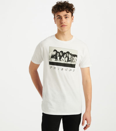 Ripple Junction  Friends Tee  White - F1AS2030-WHT | Jimmy Jazz