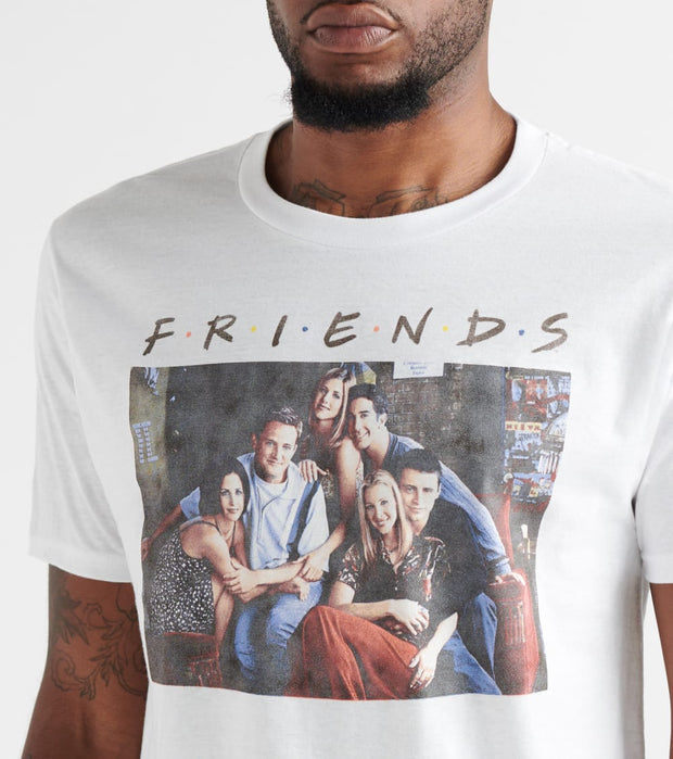 Ripple Junction  Friends TV Series Tee  White - F1AS2033-WHT | Jimmy Jazz