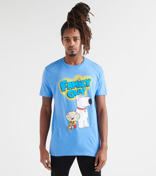 Ripple Junction  Family Guy Tee  Blue - FGAS2031-BLU | Jimmy Jazz
