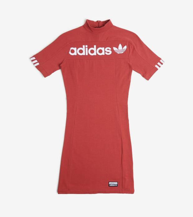 Adidas  Tee Dress  Red - FH7637-614 | Jimmy Jazz