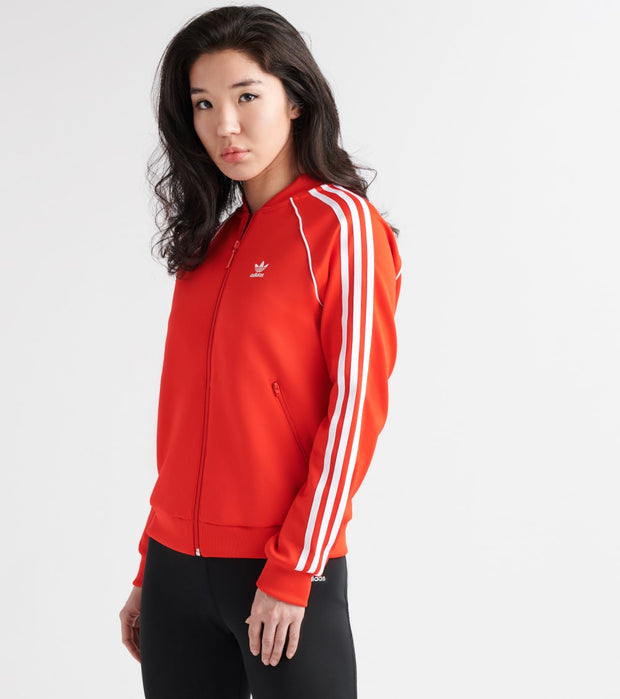 Adidas  V-Day SST Track Jacket  Red - FH8562-600 | Jimmy Jazz
