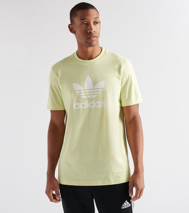 Adidas  Trefoil T-Shirt  Yellow - FK1356-743 | Jimmy Jazz