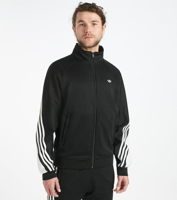 Adidas  3 Stripe Wrap Track Jacket   Black - FM1525-001 | Jimmy Jazz