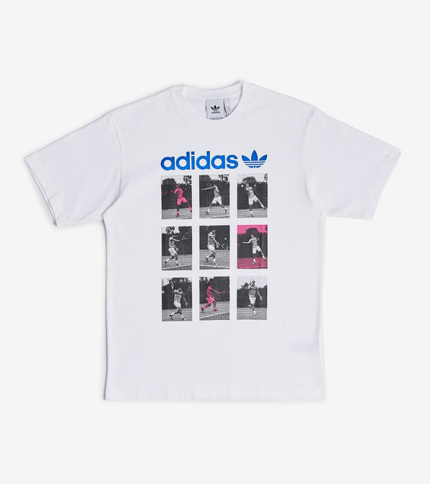 Adidas  Sport Card Tee  White - FM1539-100 | Jimmy Jazz