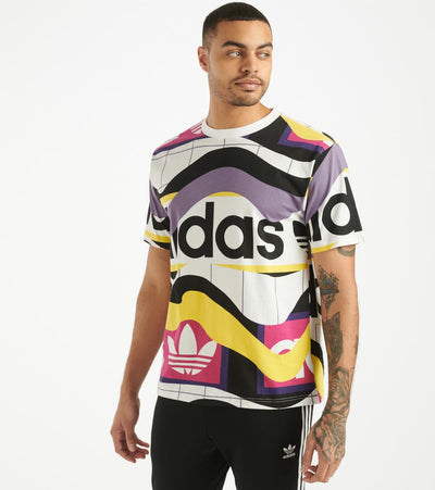 Adidas  Catalog All Over Print Tee    Multi - FM1553-100 | Jimmy Jazz
