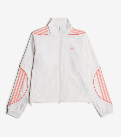 Adidas  Recycled Track Top  White - FM1929-100 | Jimmy Jazz