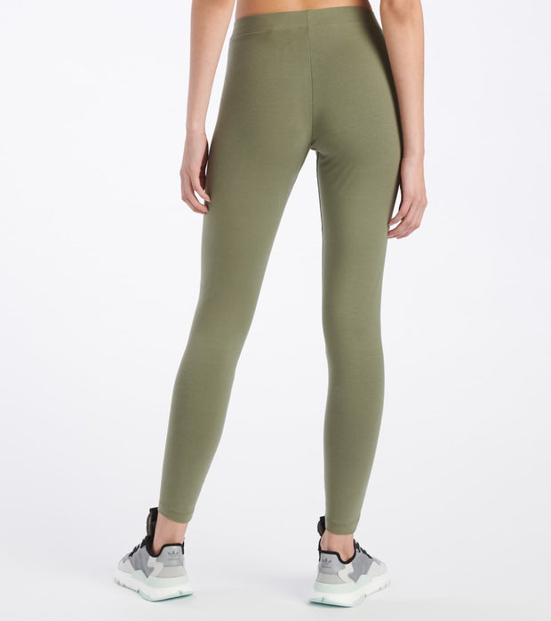 Adidas  Front Tape Legging  Green - FM2503-343 | Jimmy Jazz