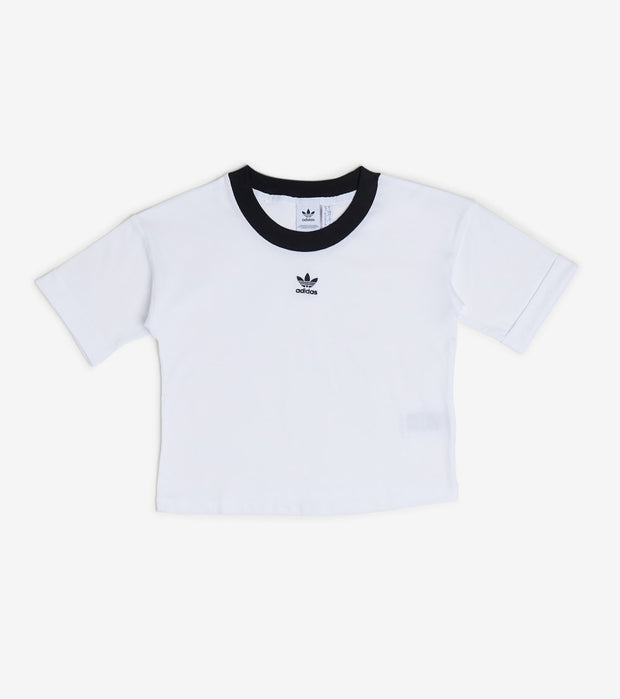 Adidas  Crop Top  White - FM2556-100 | Jimmy Jazz