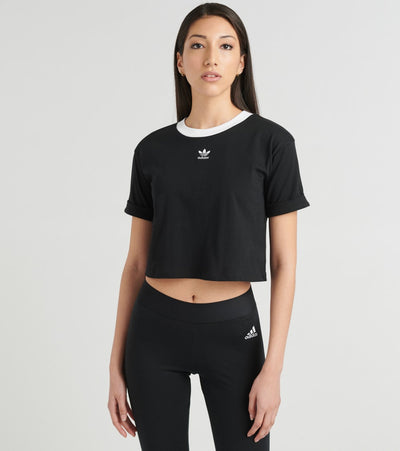 Adidas  Adicolor Crop Top  Black - FM2557-001 | Jimmy Jazz