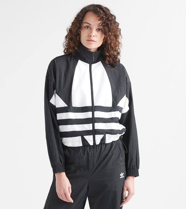 Adidas  Big Trefoil Track Jacket  Black - FM2622-001 | Jimmy Jazz