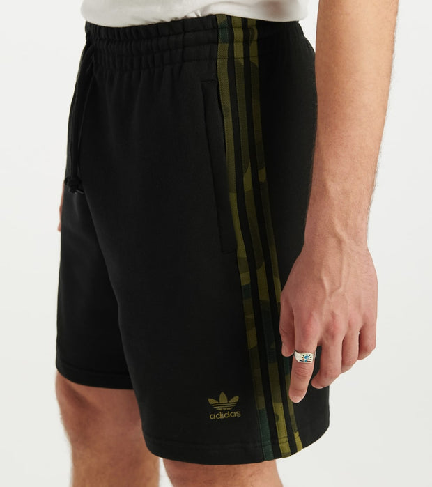 Adidas  Camo Short  Black - FM3364-001 | Jimmy Jazz