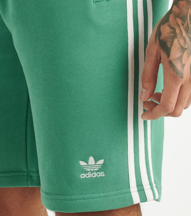 Adidas  3 Stripe Shorts  Green - FM3805-400 | Jimmy Jazz