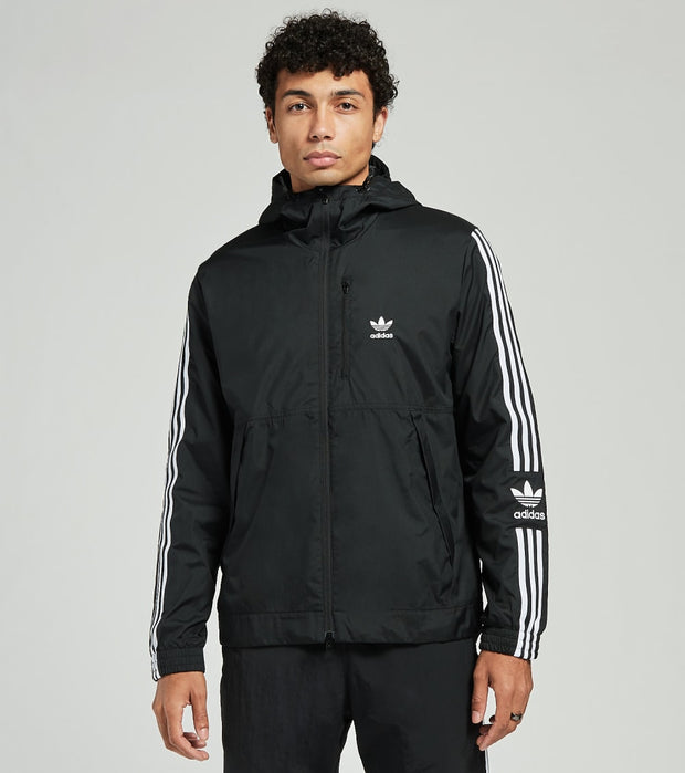 Adidas  Long Sleeve Zen Track Jacket  Grey - FM3815-001 | Jimmy Jazz