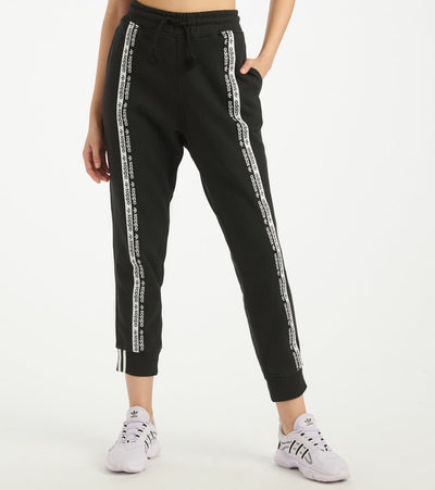Adidas  Front Tape Cuff Pants  Black - FM4385-001 | Jimmy Jazz