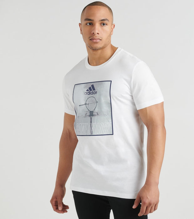 Adidas  Game on Lock Tee  White - FM4975-100 | Jimmy Jazz