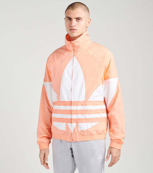 Adidas  Big Trefoil Track Jacket  Pink - FM9890 | Jimmy Jazz