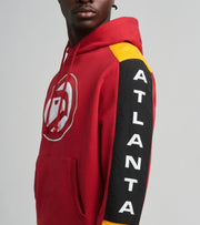 Mitchell And Ness  Atlanta Hawks Fleece Pullover Hoodie  Red - FPHDMI19033AHA-SCAR | Jimmy Jazz
