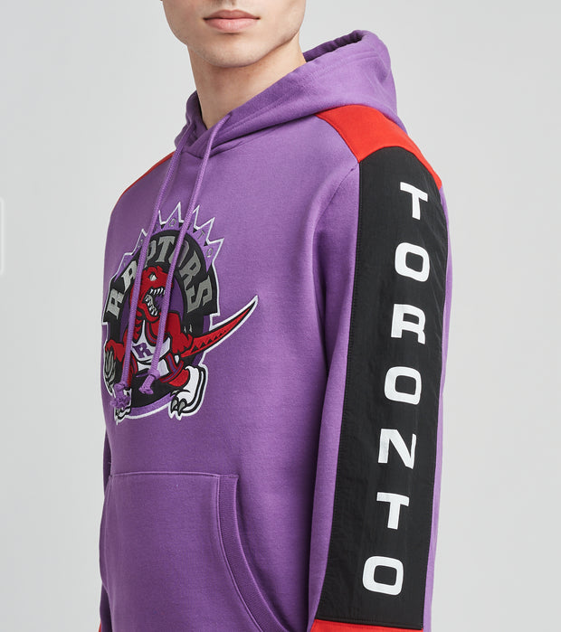 Mitchell And Ness  Toronto Raptors Fleece Pullover Hoodie  Purple - FPHDMI19033TRA-RTPR | Jimmy Jazz