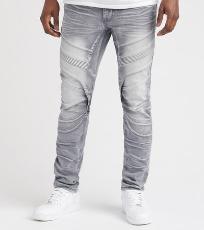 Decibel  Ron Fashion Jean - L34  Grey - FW18046L34-GRY | Jimmy Jazz